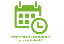 Passeport- carte d'identité prendre rendez-vous en ligne
